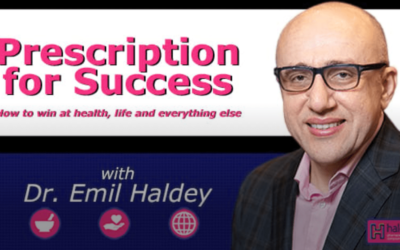 Dr. Bonheur Featured on Prescription for Success Podcast with Dr. Emil Haldey